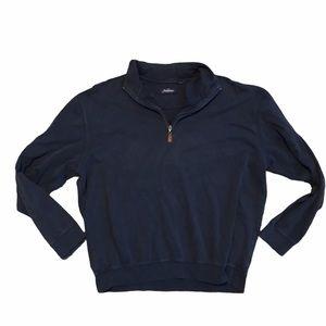 Jack Nicklaus Navy Blue Quarter Zip Pullover